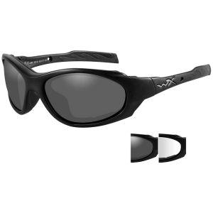 Wiley X XL-1 Advanced Schutzbrille - Gläser in Smoke Grey + Transparent / Gestell in Mattschwarz