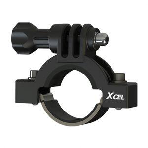 Xcel Halterung für Action Camera 2,3 bis 3,5 cm Durchmesser Schwarz