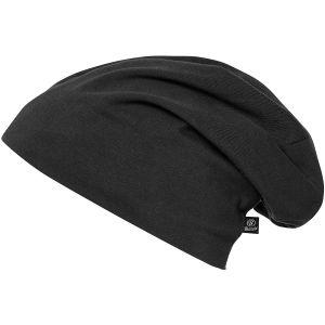 Brandit Jersey Einfarbige Mütze Schwarz