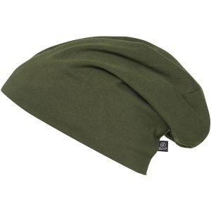 Brandit Jersey Einfarbige Mütze Olivgrün