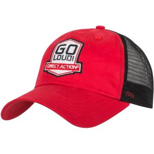"Direct Action Trucker Cap mit Aufschrift ""GO LOUD!"" Rot"