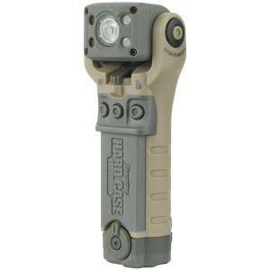 Energizer Hard Case Tactical Bravo Taktische Taschenlampe mit schwenkbarem Kopf Sand