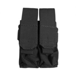 Flyye Ver. FE Doppel-Magazintasche für 9 mm-Kaliber MOLLE-Befestigungssystem Schwarz