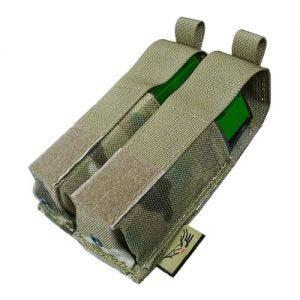 Flyye Ver. HP Doppel-Magazintasche für 9 mm-Kaliber MOLLE-Befestigungssystem MultiCam