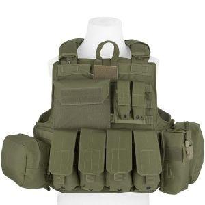 Flyye Force Recon Weste mit Taschen-Set Ver. Maritim Ranger Green