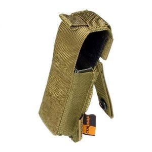 Flyye Magazintasche für .45-Kaliber MOLLE-Befestigungssystem Khakifarben