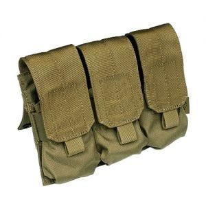 Flyye Dreifach-Magazintasche für M4/M16 mit MOLLE-Befestigungssystem Khaki