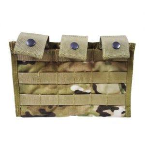 Flyye Ver. MI Dreifach-Magazintasche für M4/M16 mit MOLLE-Befestigungssystem MultiCam