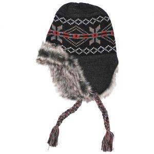 Fox Outdoor Peru Puno Mütze Schwarz/Grau