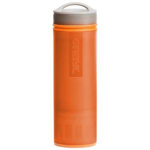 GRAYL Ultralight Water Purifier Wasserflasche mit Filterkartusche Orange