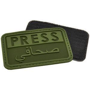 Hazard 4 Press/Arabic 3D-Patch für Reporter OD Green