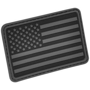 Hazard 4 Patch USA-Flagge Links Schwarz