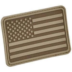 Hazard 4 Patch USA-Flagge Links Coyote