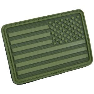 Hazard 4 Patch USA-Flagge Rechts Olive Green