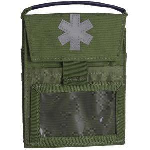 Helikon Pocket Med Insert Flache Tasche für Erste-Hilfe-Zubehör Olive Green