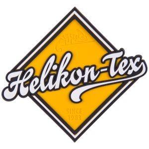 Helikon Patch im Straßenschild-Design Gelb