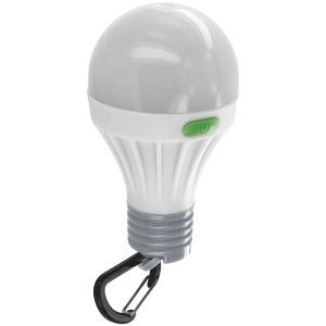 Highlander 1W LED-Lampe in Glühbirnenform Weiß