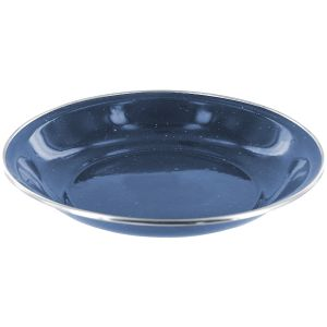 Highlander Deluxe Emaille-Suppenteller Navy Blue