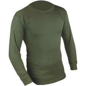Highlander langärmliges Thermo-Unterhemd Olivgrün