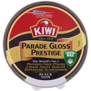 Kiwi Schuhcreme Schwarz glänzend