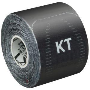 """KT Tape Consumer Pro 10"""" Synthetisches Kinesio-Tape vorgeschnitten Jet Black"""
