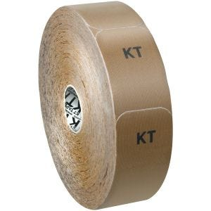 KT Tape Jumbo Original Kinesio-Tape aus Baumwolle vorgeschnitten Beige
