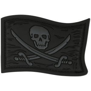 Maxpedition Patch Piratenflagge Dunkelgrau