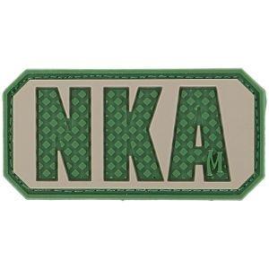 """Maxpedition Patch mit Schriftzug """"NKA"""" (No Known Allergies - Keine bekannten Allergien) Arid"""