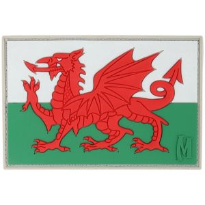 Maxpedition Patch Flagge von Wales Farbig