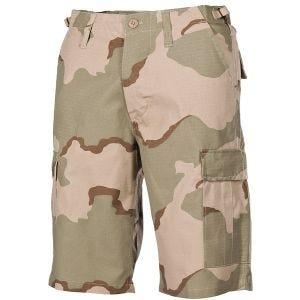 MFH US BDU Bermuda-Shorts Ripstop Desert 3 Farben