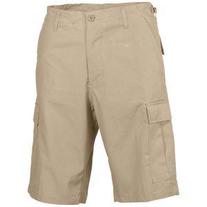 MFH US BDU Bermuda-Shorts Ripstop Khaki
