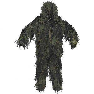 MFH Jackal Ghillie-Anzug mit 3D-Body-System Woodland