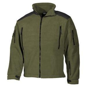 MFH Heavy Strike Fleece-Jacke OD Green