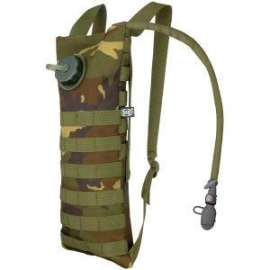 MFH Trinkblase und Tasche mit MOLLE-Befestigungssystem Woodland