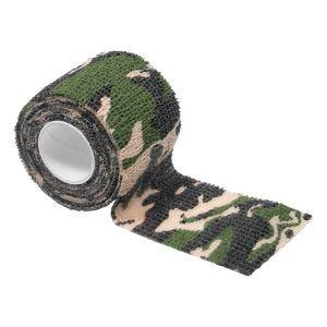 MFH Selbstklebendes Camouflage-Klebeband 5 cm x 4,5 m Woodland
