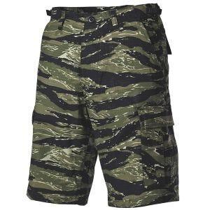 MFH US BDU Bermuda-Shorts Ripstop Tiger Stripe