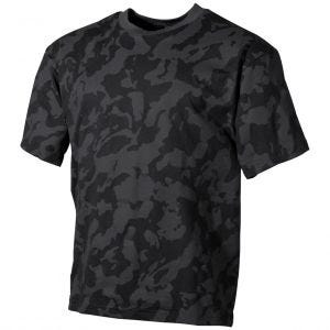 MFH T-Shirt Night Camo