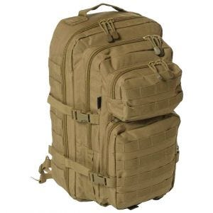 Mil-Tec One Strap Assault Pack Large Einsatzrucksack mit einem Träger Coyote