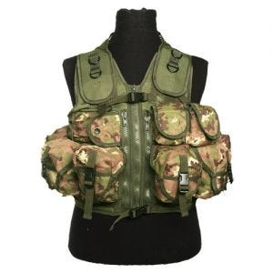 Mil-Tec Ultimate Einsatzweste Vegetato Woodland