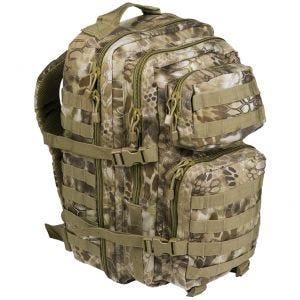 Mil-Tec US Assault Pack Large Einsatzrucksack mit MOLLE-Befestigungssystem Mandra Tan