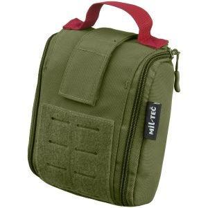 Mil-Tec IFAK-Tasche für Erste-Hilfe-Ausrüstung lasergeschnitten Olivgrün