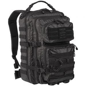 Mil-Tec US Assault Pack Einsatzrucksack Groß Tactical Black