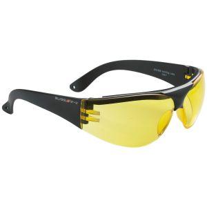 Swiss Eye Outbreak Protector Sportbrille Gestell in Schwarz / Gläser in Gelb