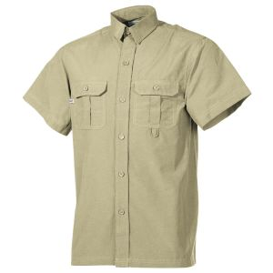 Fox Outdoor Kurzärmliges Outdoor-Hemd Khaki