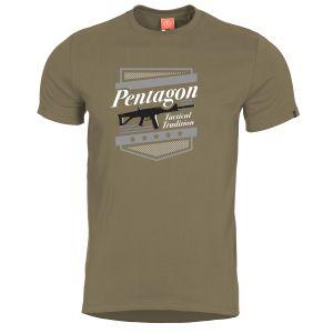 Pentagon Ageron T-Shirt mit ACR-Motiv Coyote