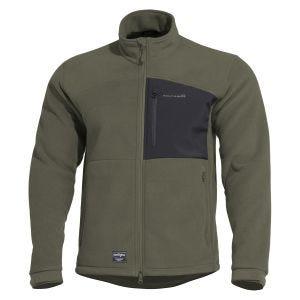 Pentagon Athos Fleece-Sweatjacke Camo Green