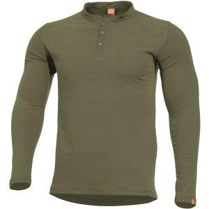 Pentagon Romeo Henley-Shirt Olivgrün