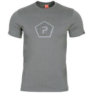 Pentagon Ageron Pentagon Shape T-Shirt Wolf Grey