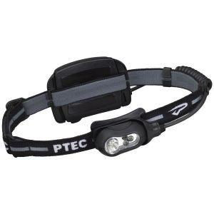 Princeton Tec Remix Wiederaufladbare Kopflampe weiße LED schwarzes Gehäuse