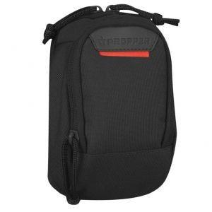 """Propper Tasche für kleine Elektrogeräte mit zwei Fächern MOLLE-kompatibel 7 x 4"""" Schwarz"""